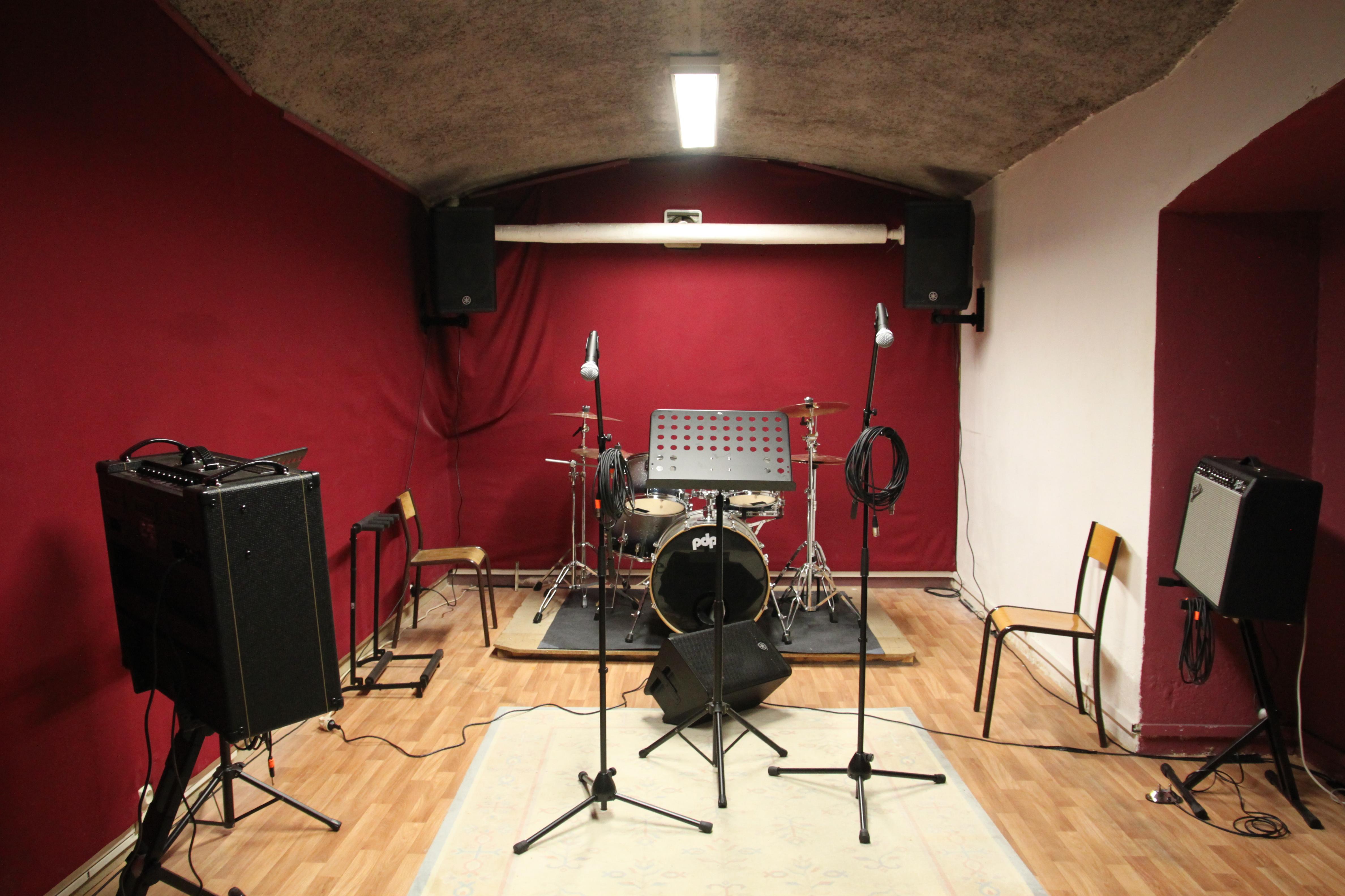 Studios de répétitions grenoble