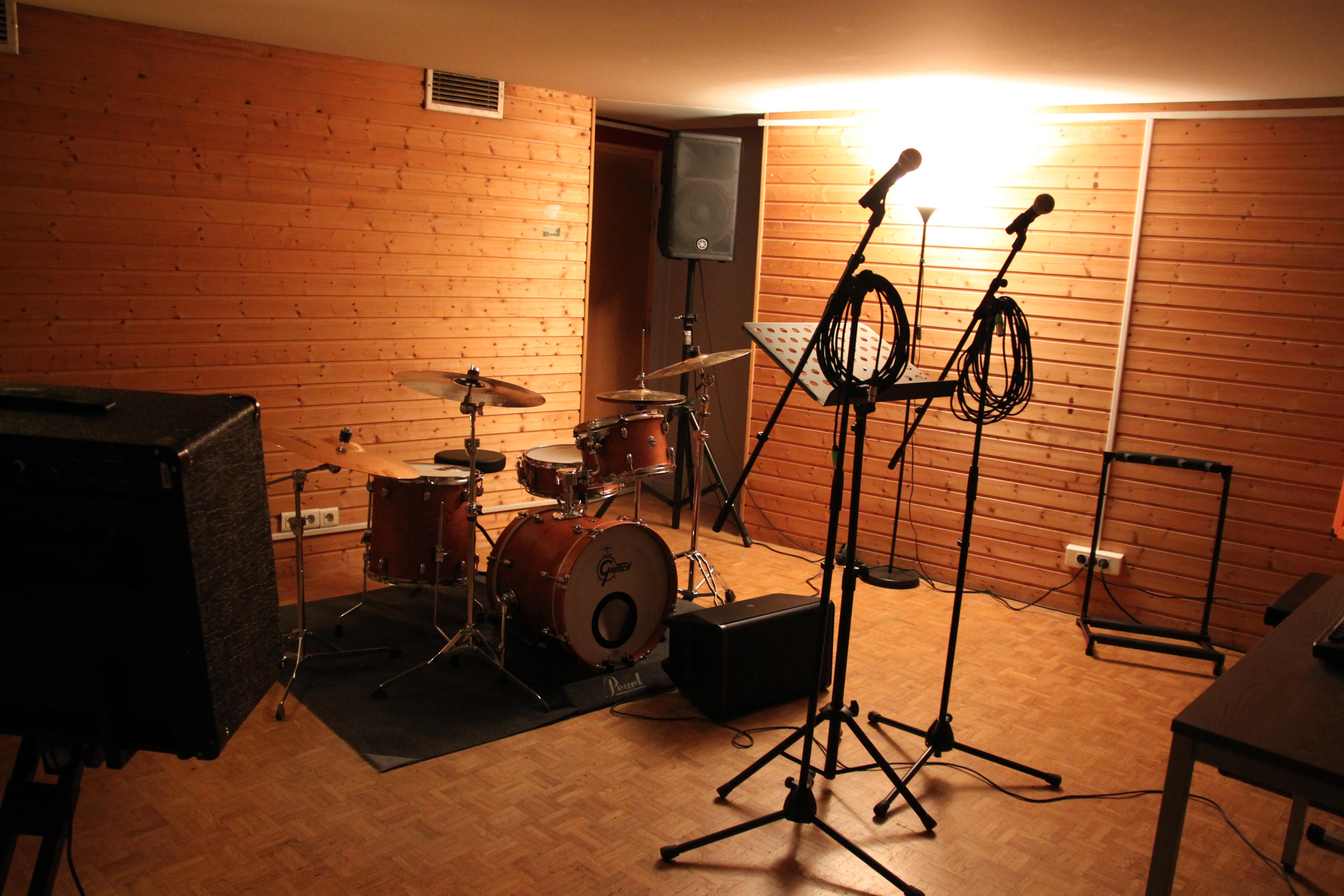 Studios de répétition Grenoble